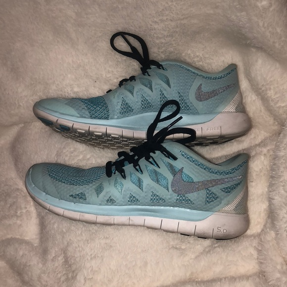e21b755b6be2 Baby Blue Nike Free Run 5.0